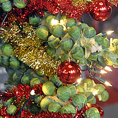 Decorated sprouts