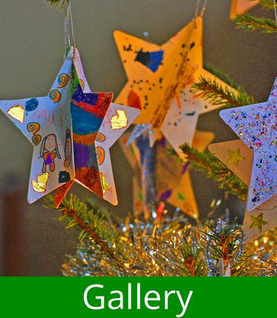 Gallery menu