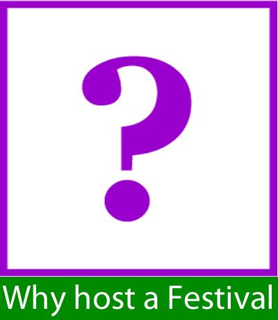 Why host a Festival - menu button