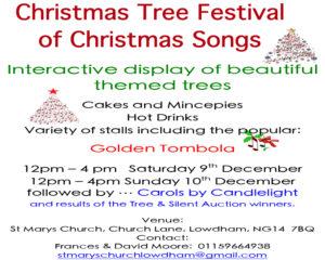 lowdham christmas tree festival - Church Christmas Songs